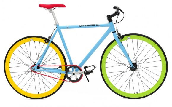 Яркий велосипед от Create