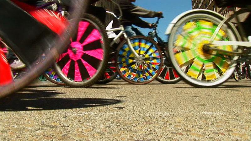 Как сделать наклейку своими руками на велосипед