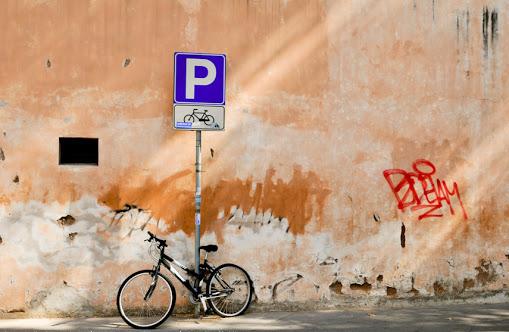 Велопарковка в Риме