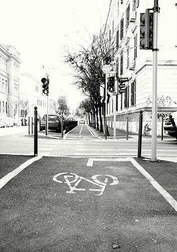Велодорожка в Риме